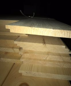 thickness of shiplap boards