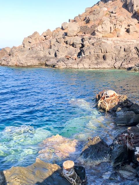 Santorini Travel Guide Amoudi Bay