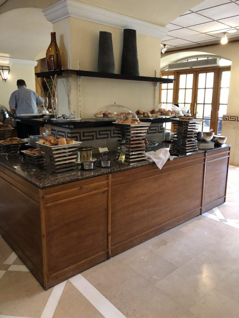 Breakfast buffet at the Pavillion Winter Luxor Hotel