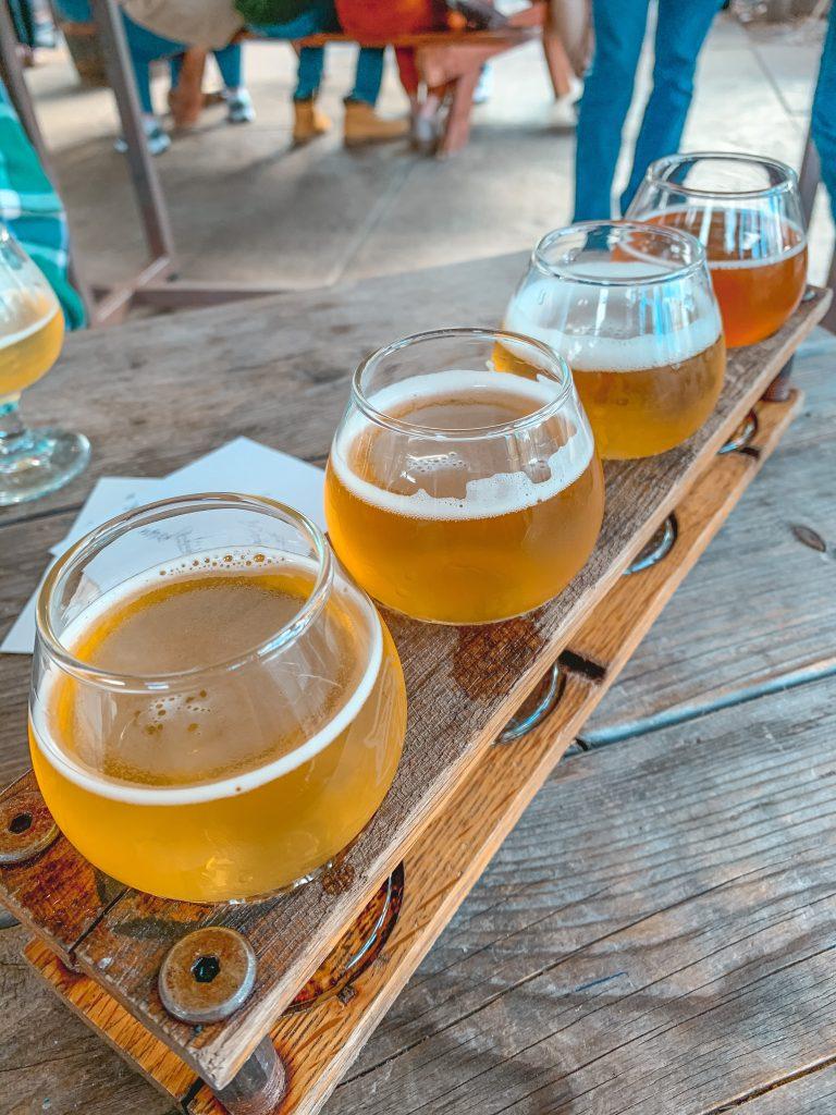 Flight Allagash Brewery maine