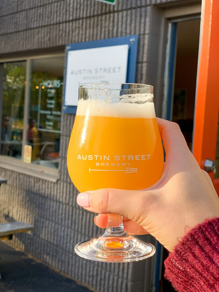 Austin Street Brewing company beer and tasting room