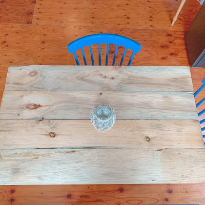 Upcycled Kitchen Table