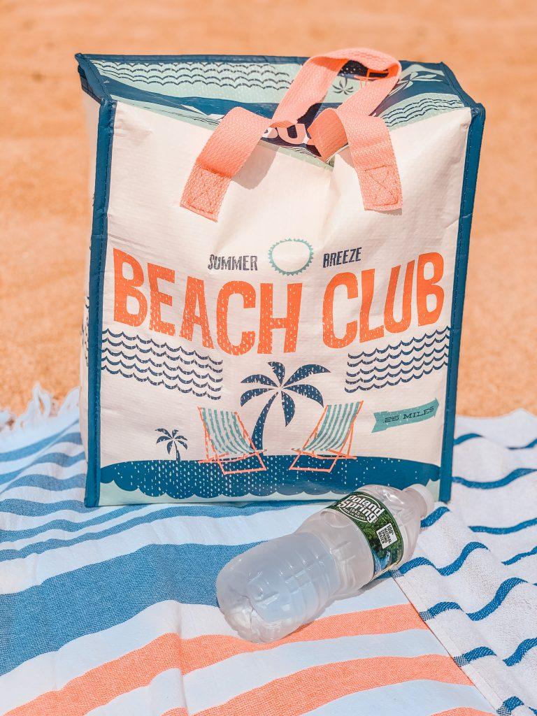 beach bag essentials cooler