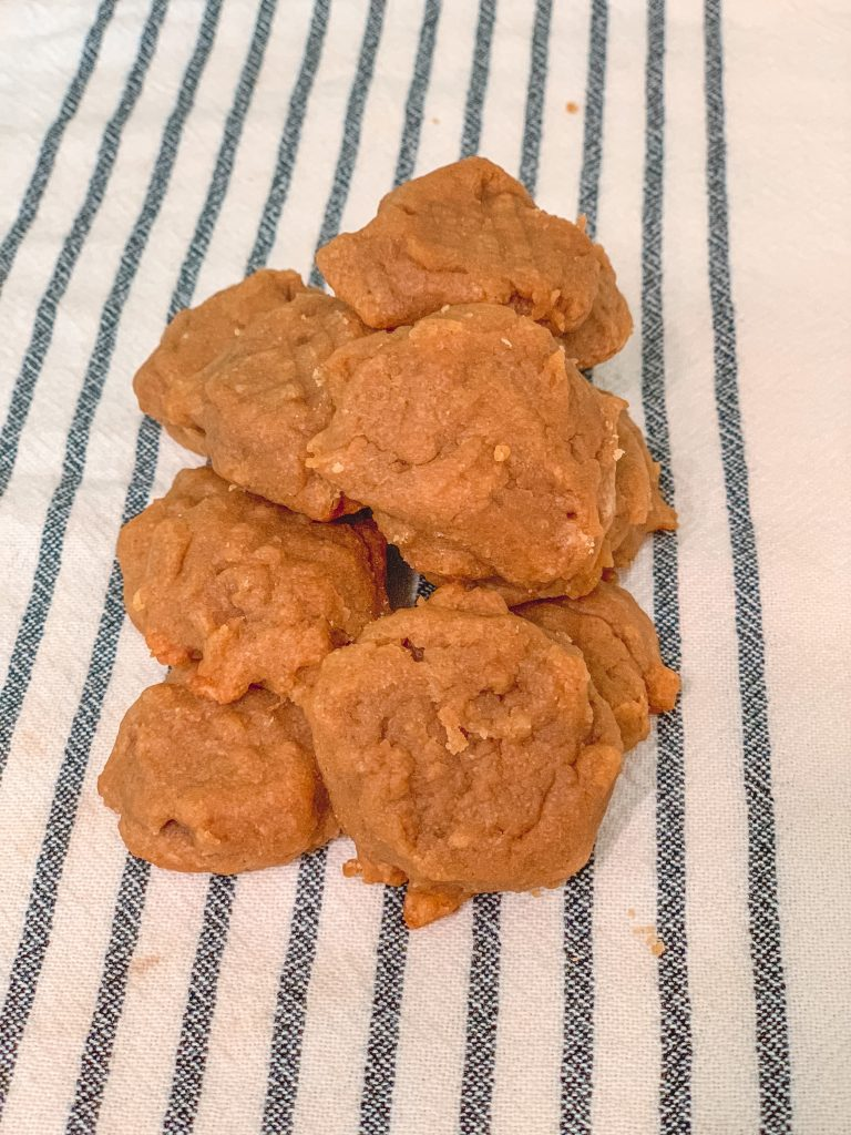 peanut butter natural dog treats