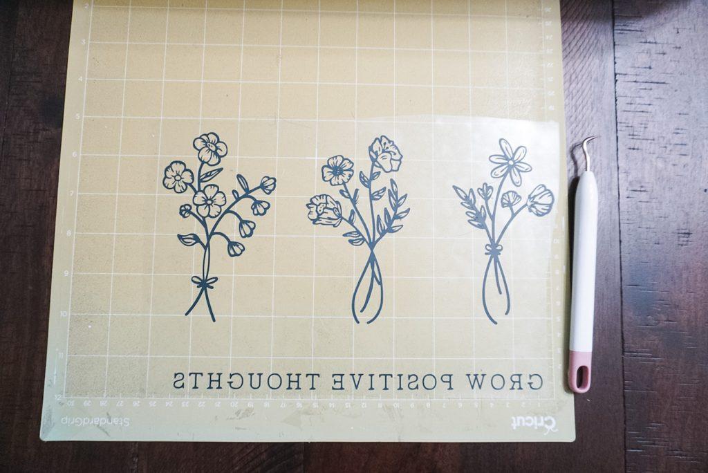 cricut weeding