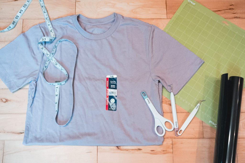 Cricut t shirt supplies