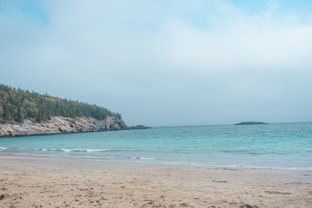 Sand Beach Acadia National Park