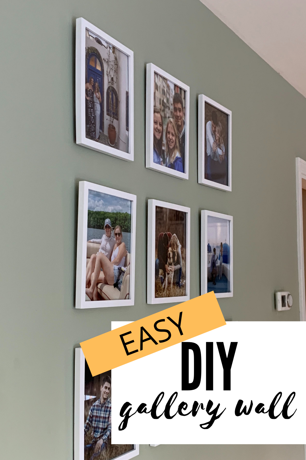 Picture Frame Wall Gallery: DIY on a Budget