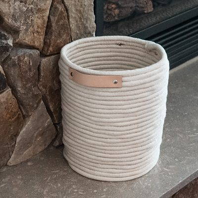 Easy DIY Rope Basket Tutorial