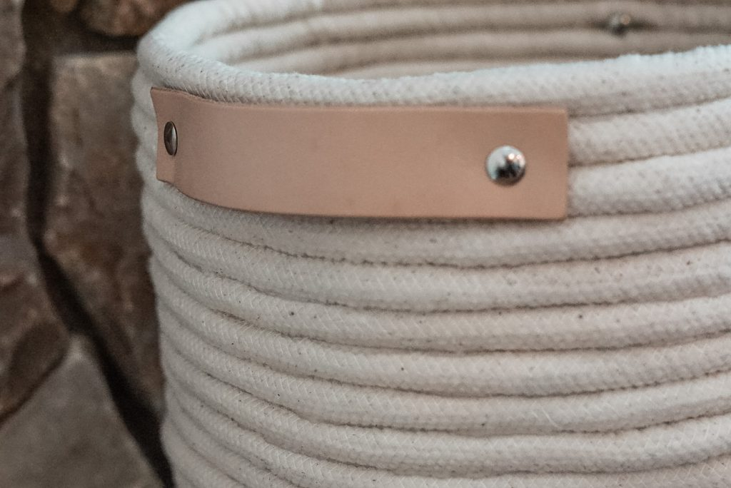 DIY rope basket handle