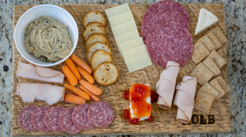 diy charcuterie board wood