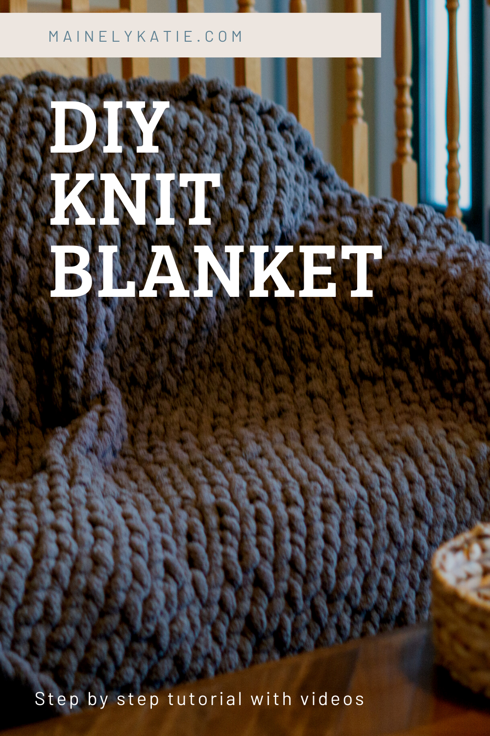 If you have been looking for a tutorial on how to make your own chunky knit blanket, you have come to the right place. In this post I take you step by step on how to make your own chunky knit blanket with videos for reference. This blanket cost under $30 and is so soft!