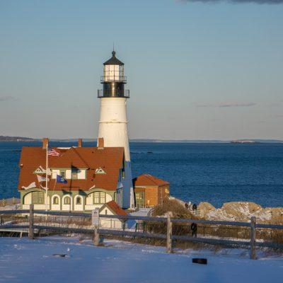 Winter Weekend in Portland, Maine
