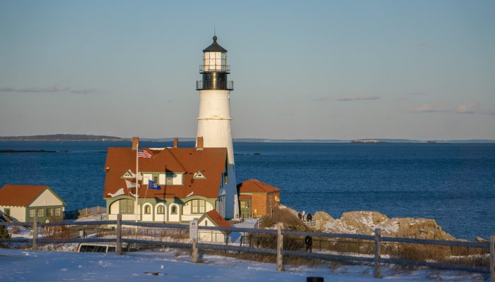 Winter Weekend in Portland, Maine