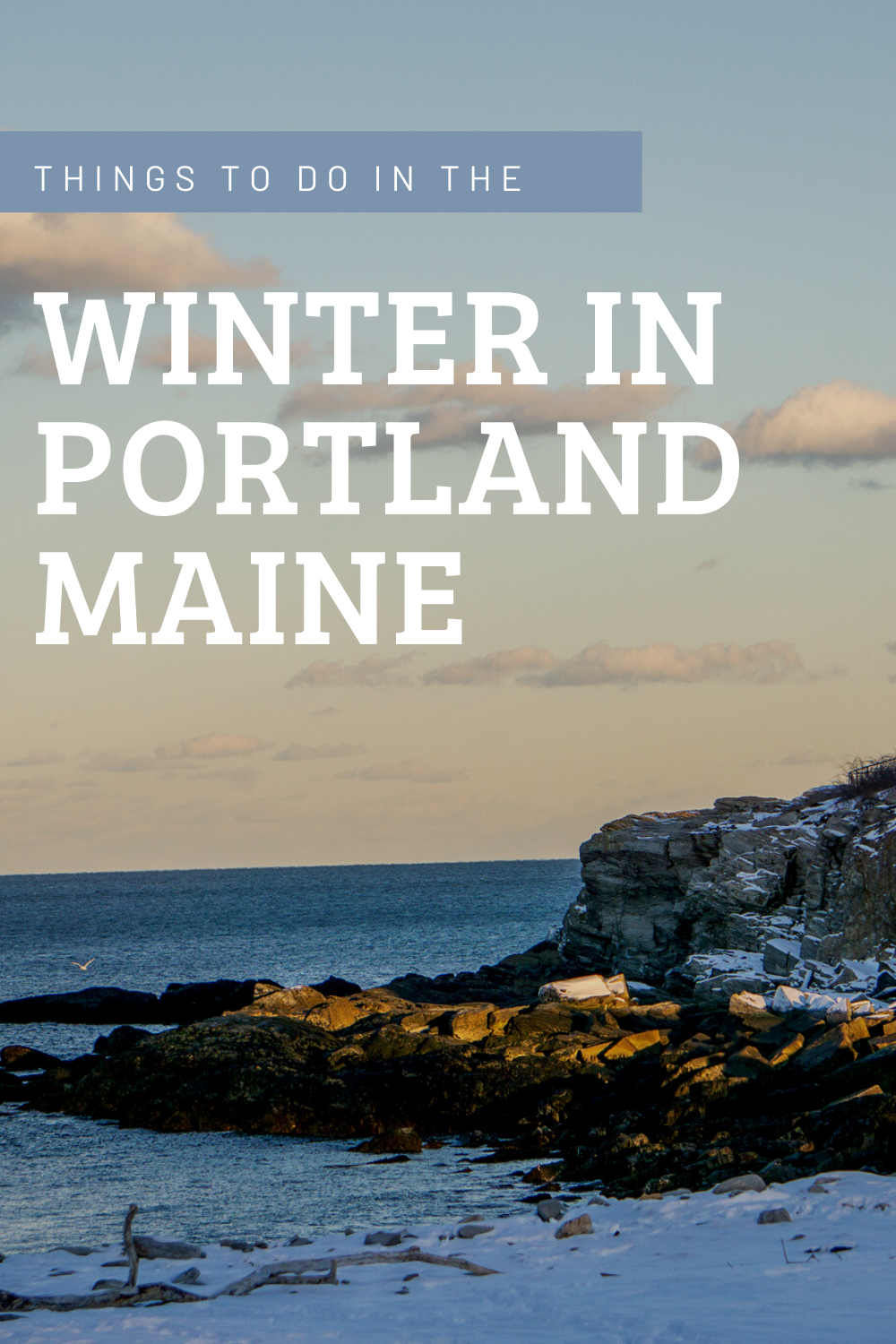 You may think that the only things to do in winter in Maine are to ski or snowboard. While those are some really great winter activities, Maine has lots more to offer in the winter months. Plus there are much less tourists! So don't let the snow and the cold keep you from planning a winter weekend in Portland, Maine!